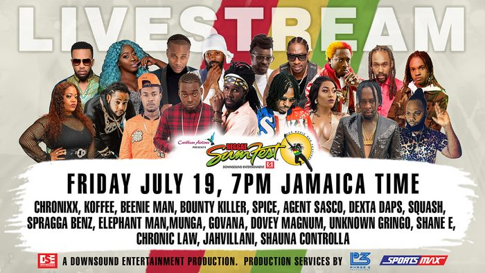 REGGAE SUMFEST FREE LIVE STREAM – FRIDAY NIGHT – JULY 19 2019