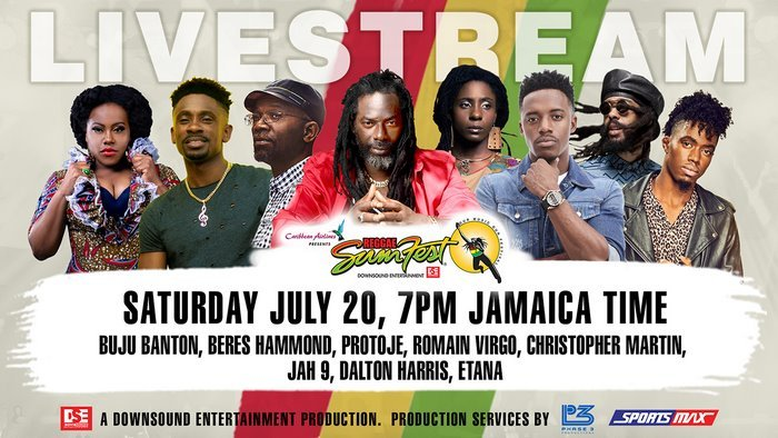 REGGAE SUMFEST FREE LIVE STREAM – SATURDAY NIGHT – JULY 20 2019
